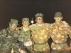 Morellato e Zanichelli Massimo prima della missione... Operazione Muflone in cooperazione con Berretti Verdi Americani e 9 Battaglione